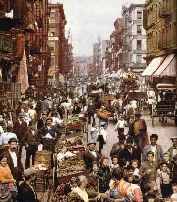 Urbanization 1800s United States immigrat...