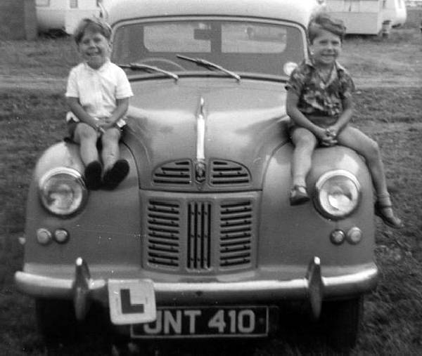 ... average english family was not able to afford a car until well after