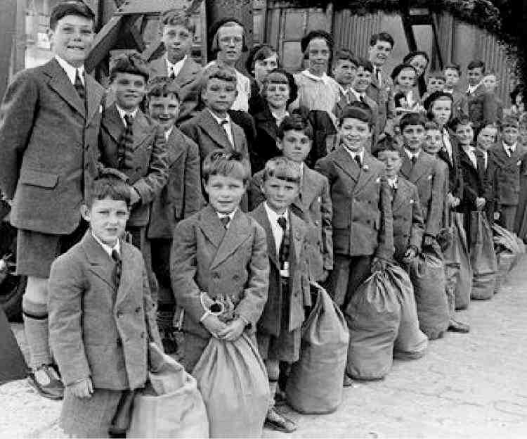 evacuation of children in ww2 essays