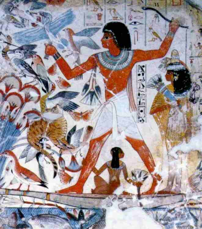 Tomb Paintings - LotsOfEssays.com - Over 32,000 essays, term