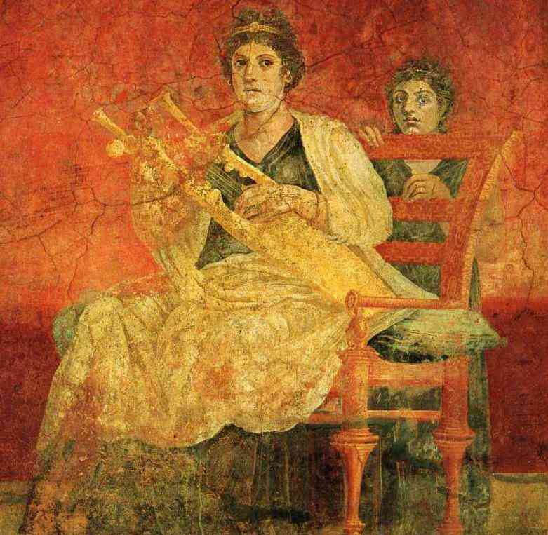 ancient civilizations -- Romn clothing girls clothes