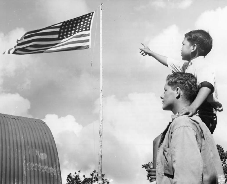 World War II -- island territories the Marianas