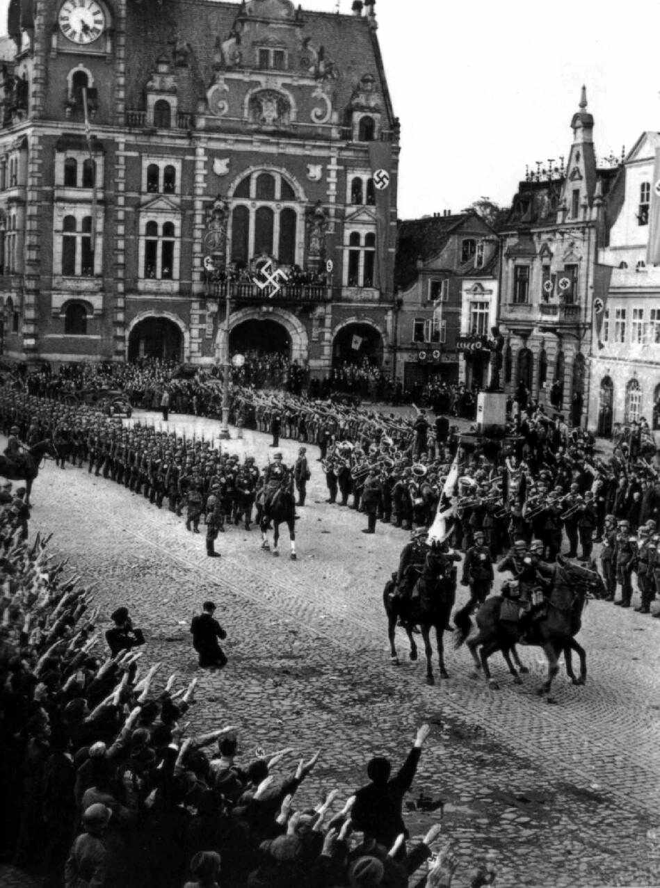 what was the remilitarization of the rhineland