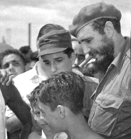 Fidel Castro 1955