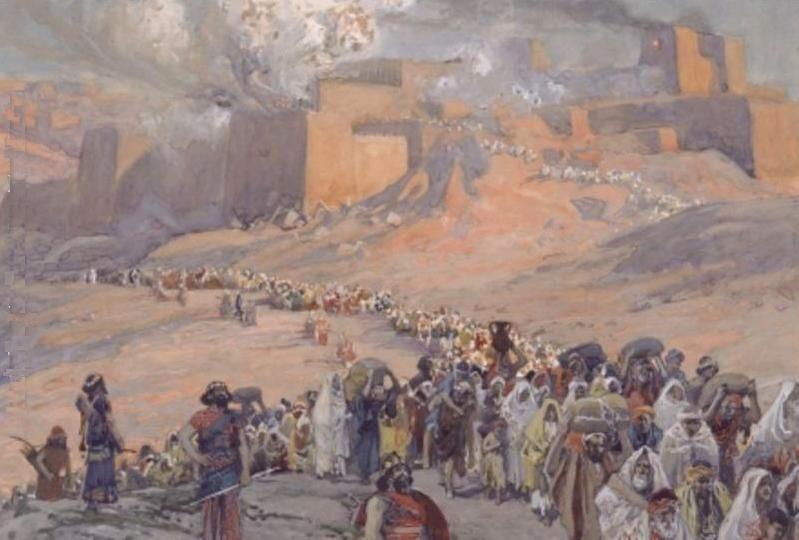ancient civilizations -- Hebrews history Babylonian conquest