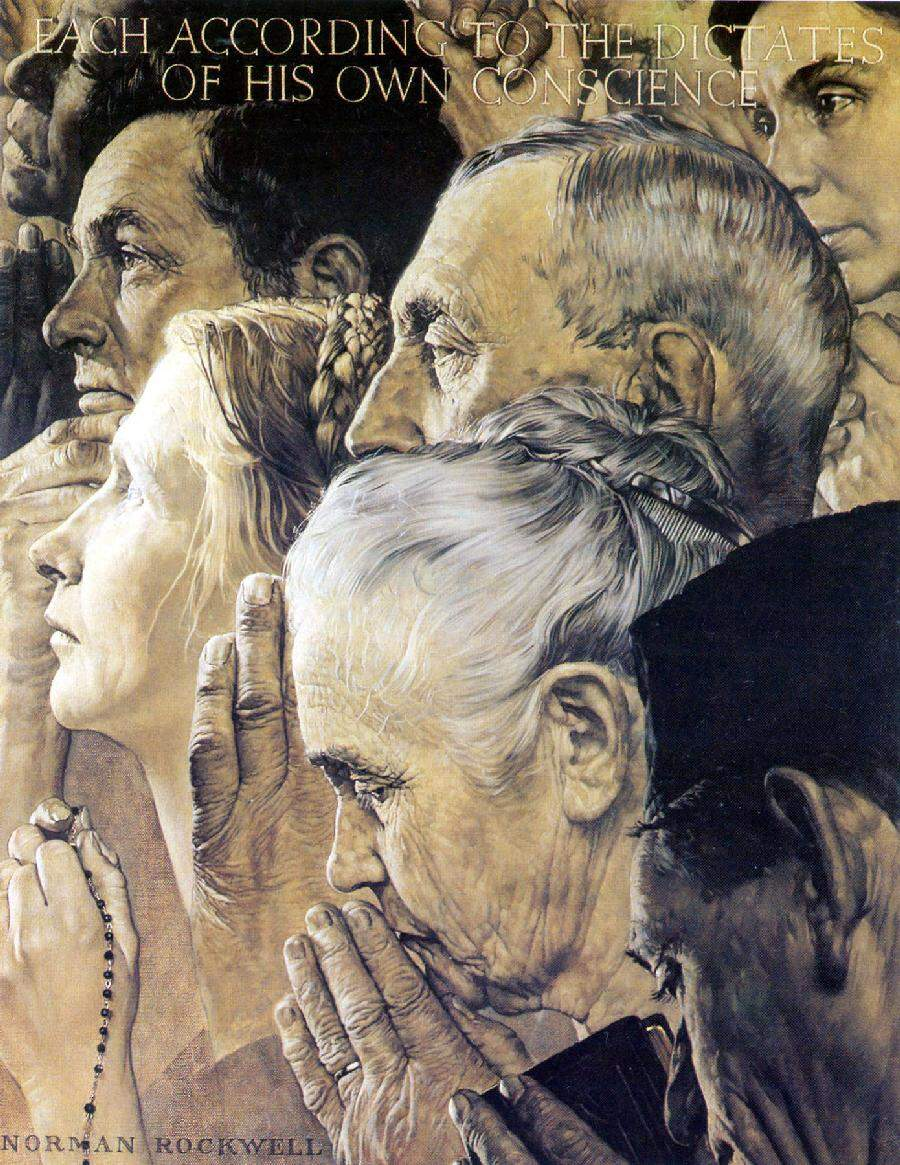 """the four essential human freedoms Read the excerpt from roosevelt's four freedoms"""" speech in the future days, which we seek to make secure, we look forward to a world founded upon four essential."""
