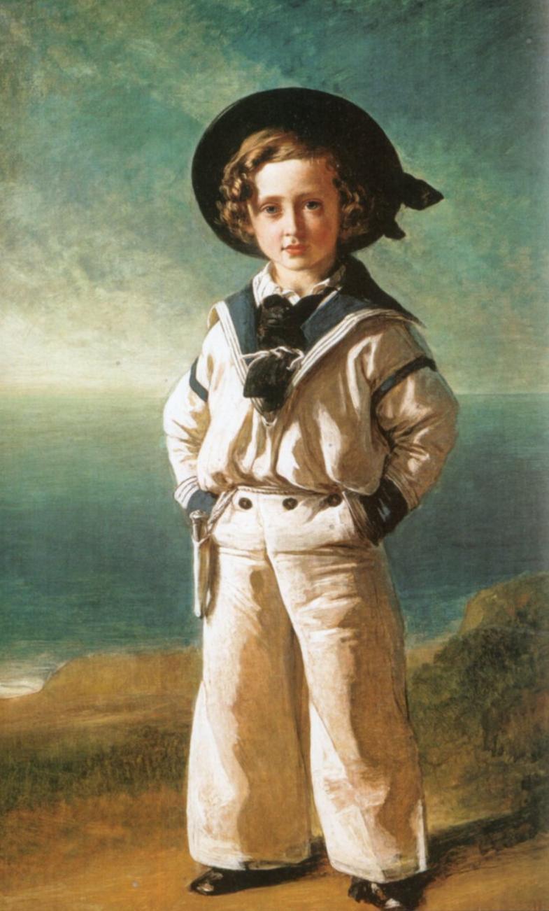 Edward VII: boyhood clothing
