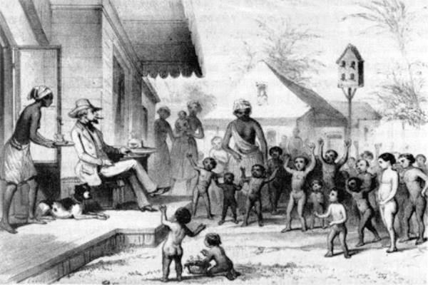 an analysis of the slaves and the slaveowners views of slavery Douglass' narrative begins with the few facts he knows about his birth and parentage his father is a slave owner and his mother is a slave named harriet bailey.