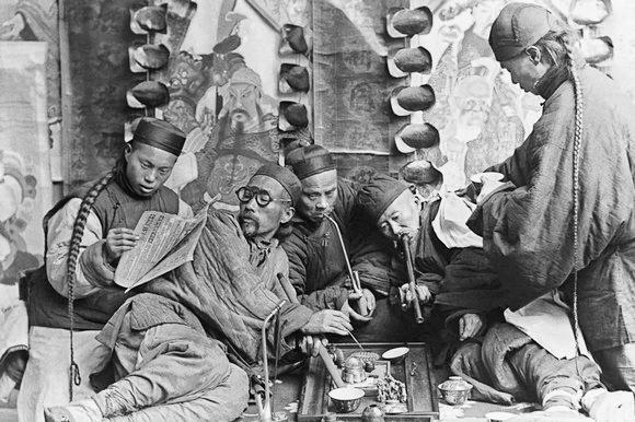 a history of the opium war between the great britain and china