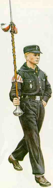 Hitler Youth Uniforms: Hitler Youth winter uniform