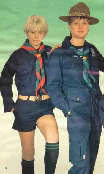 Danish Boy Scout Uniforms